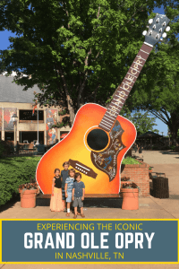 When in Nashville, TN you can't miss the iconic and unforgettable Grand Ole Opry! To add to the experience you will also want to do the backstage tour!