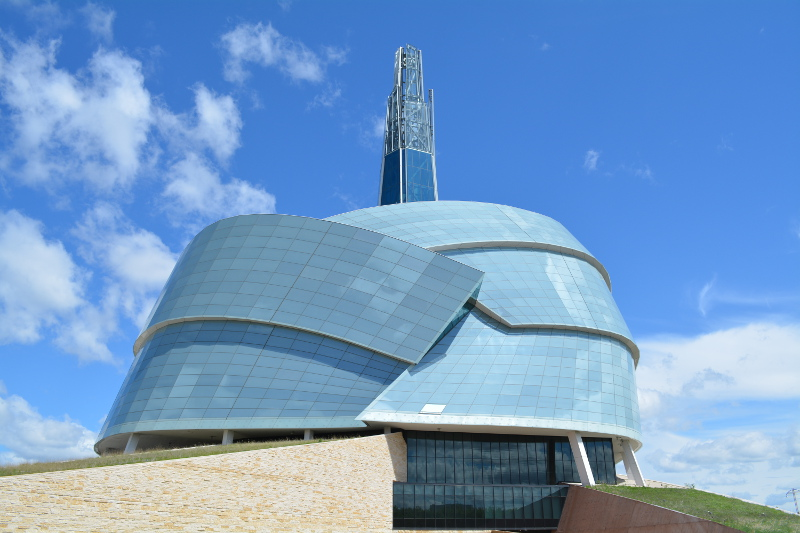 The Canadian Museum For Human Rights was a fantastic education thing to do in Winnipeg