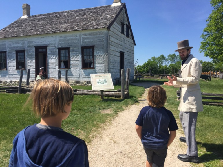 Lower Fort Garry was one of our favorite things to do in Winnipeg. We had so much fun seeing the living history!