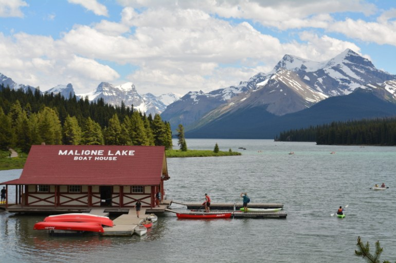 This Banff attraction is both scenic and fun as you get an up close look at Spirit Island.