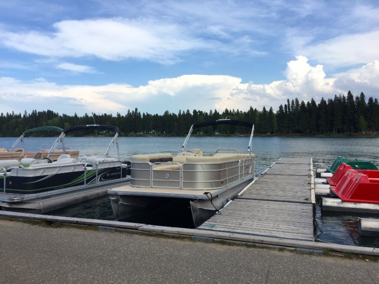 Rent a boat at Clear Lake Riding Mountain National Park