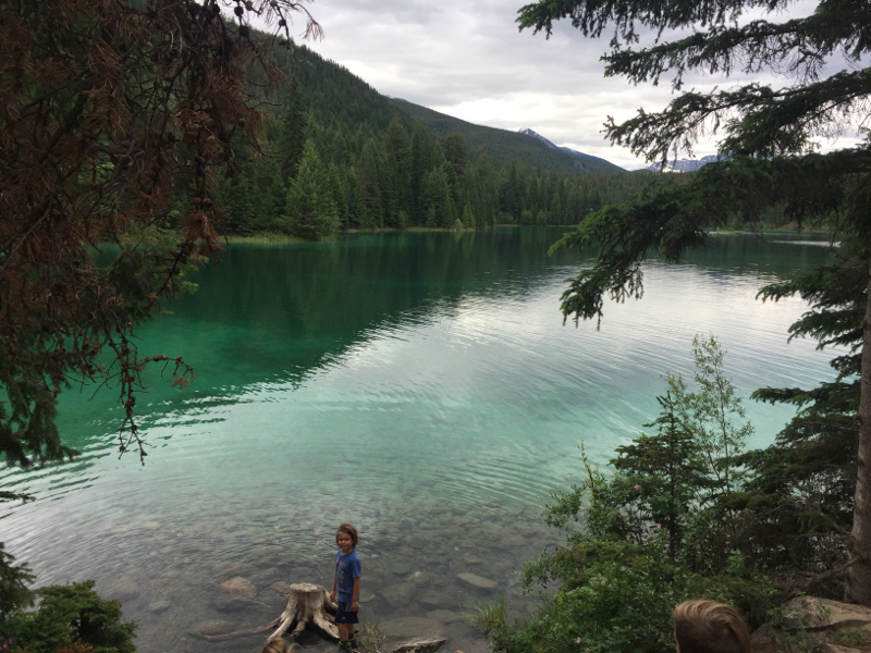 We loved the water color of the lakes in Jasper National Park