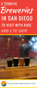There are quite a few breweries in San Diego, CA to pick from. But never fear we were up for the challenge of finding the best ones beer-wise and for families! Hey we travel full time with our kids so they come everywhere with us.