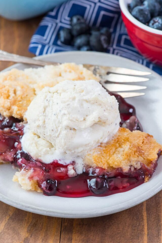Fresh Raspberry Dump Cake Recipe