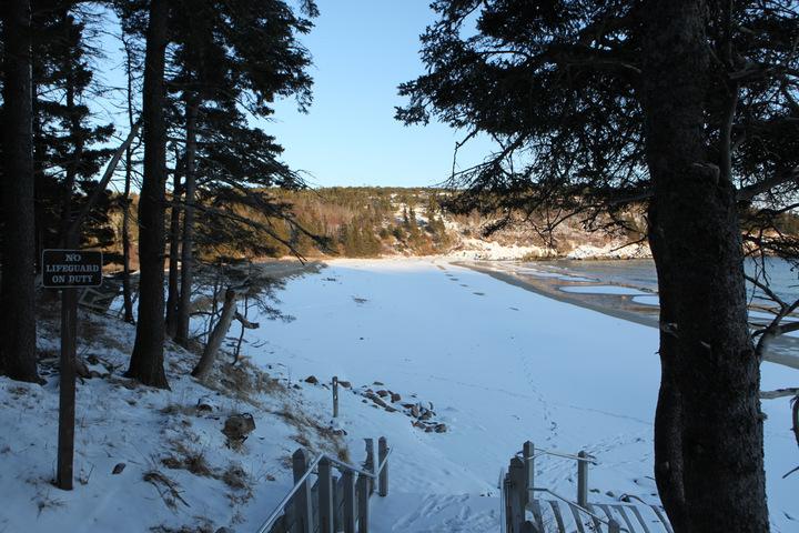 Acadia National Park Winter  Bar Harbor Maine  The Legendary Adventures of Anna