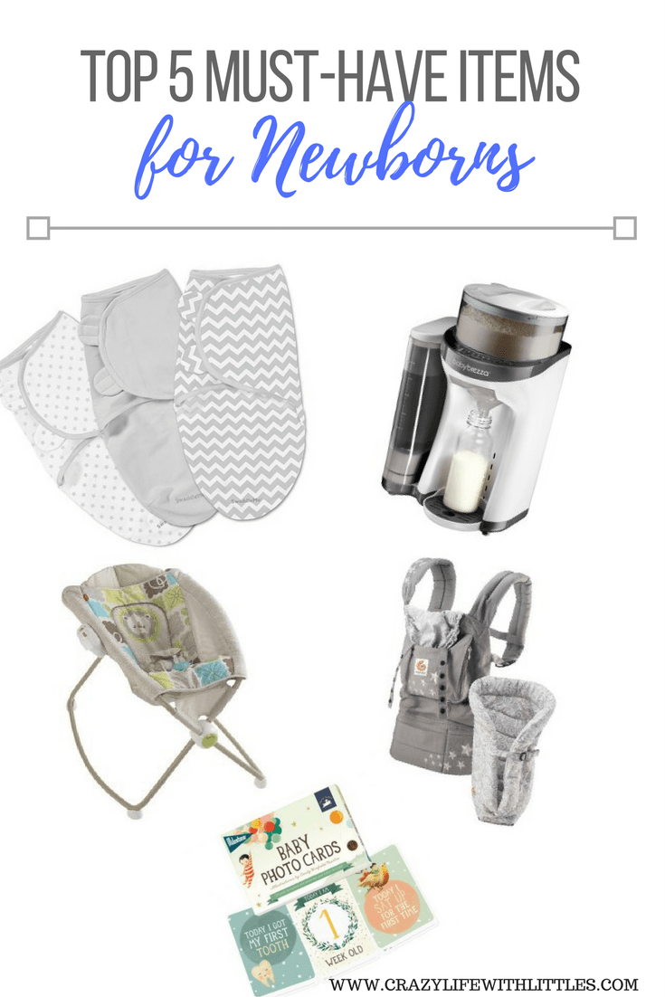 TOP 5 MUST HAVE BABY ITEMS FOR NEWBORNS, BABY REGISTRY, SWADDLES, BABY BREZZA, ROCK N PLAY, WHAT TO REGISTER FOR AS A FIRST TIME MOM