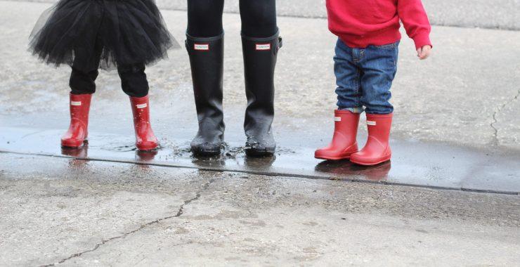 Rainy Day Fashion with Janie and Jack