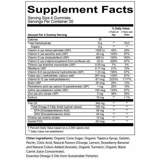 SmartyPants Supplement Nutrition Guide