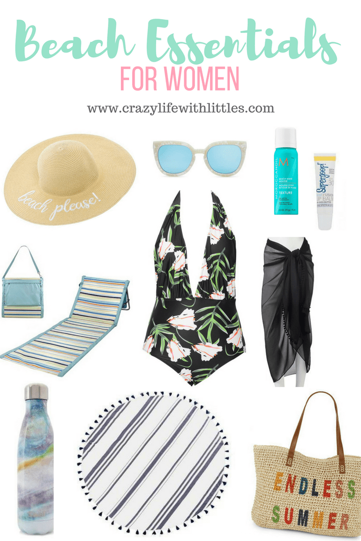 Beach Essentials for Women, What to Wear to the Beach, What to pack for the beach