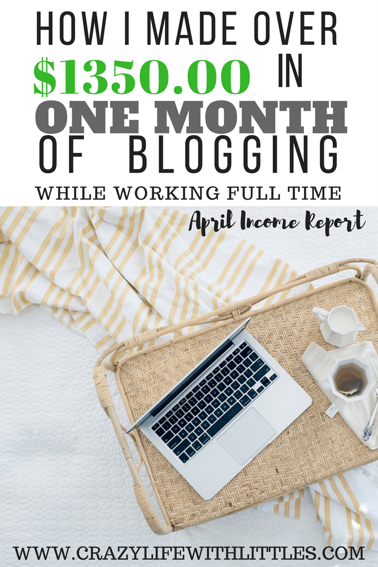 Blogger Income Report, Make over $1000 from home blogging, companies that pay you to blog, influencer networks, blogging, creating a brand, how to start a blog, affiliate networking, writing sponsored content