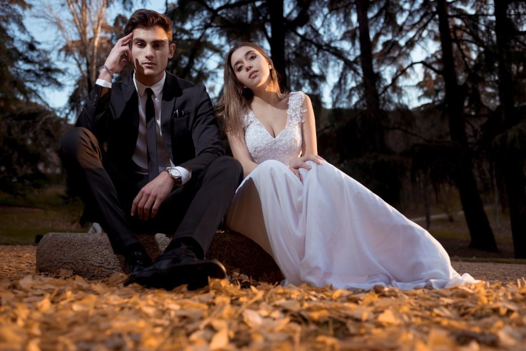 Fotos de boda en otoño