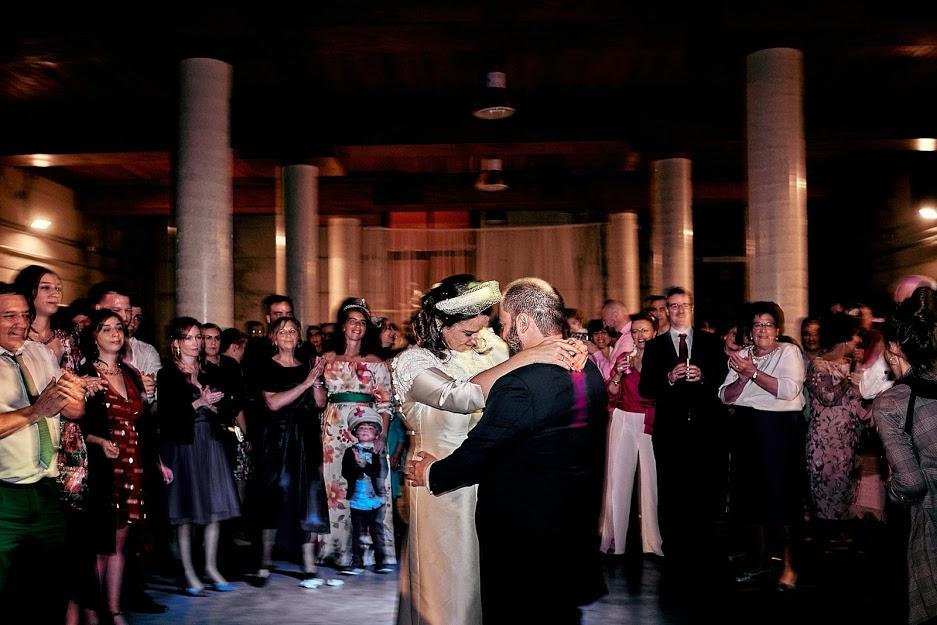 Foto del baile de los novios