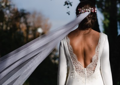 La boda de Diana y Javi en la Finca de San Antonio