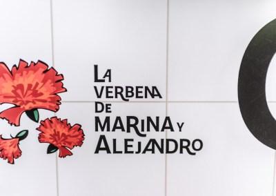 La boda Verbena – Marina y Alejandro