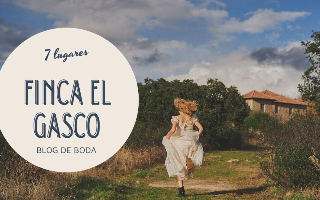 7 mejores lugares de la Finca el Gasco para tus fotografías de boda