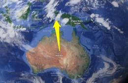 Australia zostanie przesunięta w 2017 roku o niemal dwa metry