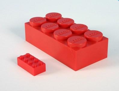 Jumbo LEGO brick