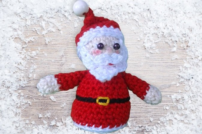 WeihnachtsDeko hkelnWeihnachtsmann DIY