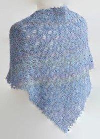 Crochet Lace Shawl Pattern, Easy Year Round Wrap Pattern ...
