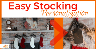 Simple Stocking Personalization