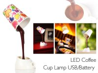 DIY LED Coffee Cup Lamp @ Crazy Sales - We have the best ...