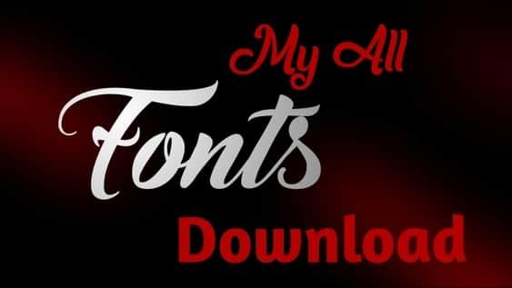 Download My All Fonts Crazy Tips » CrazyTips