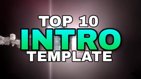 top 10 intro templates no text 3d download crazytips