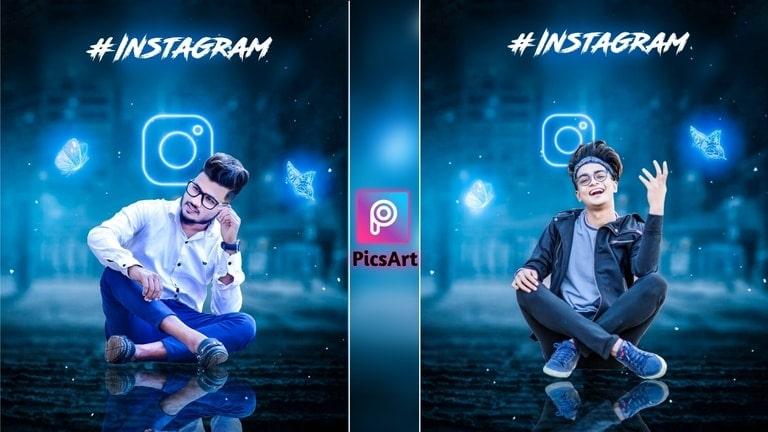 creative instagram photo editing
