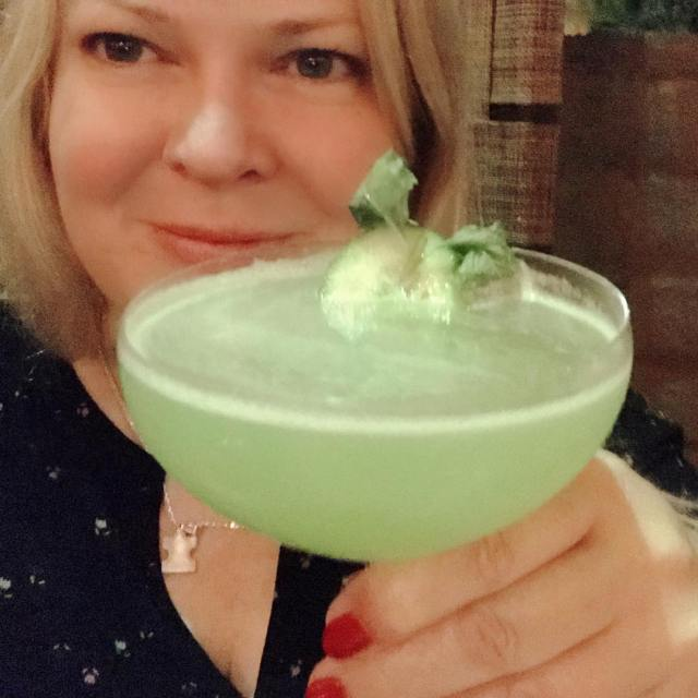 This is a cucumber fancy drink Hi! Im now gonnahellip