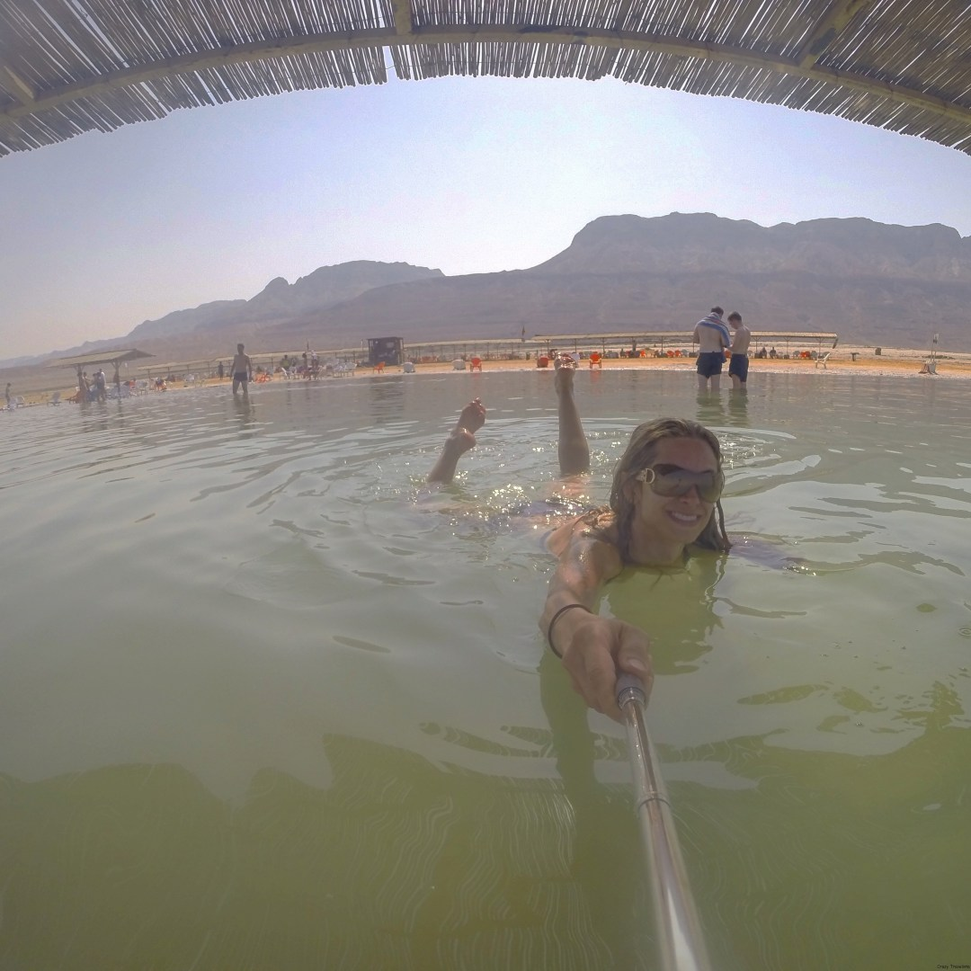 GoPro action in the Dead Sea