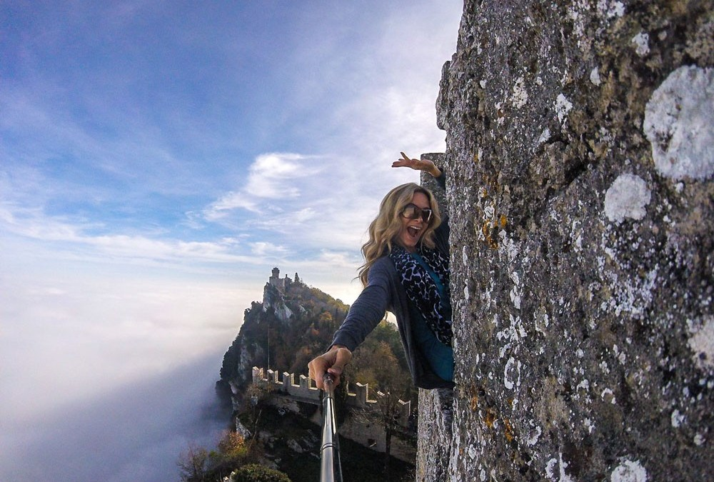 Above the Clouds in San Marino…Literally