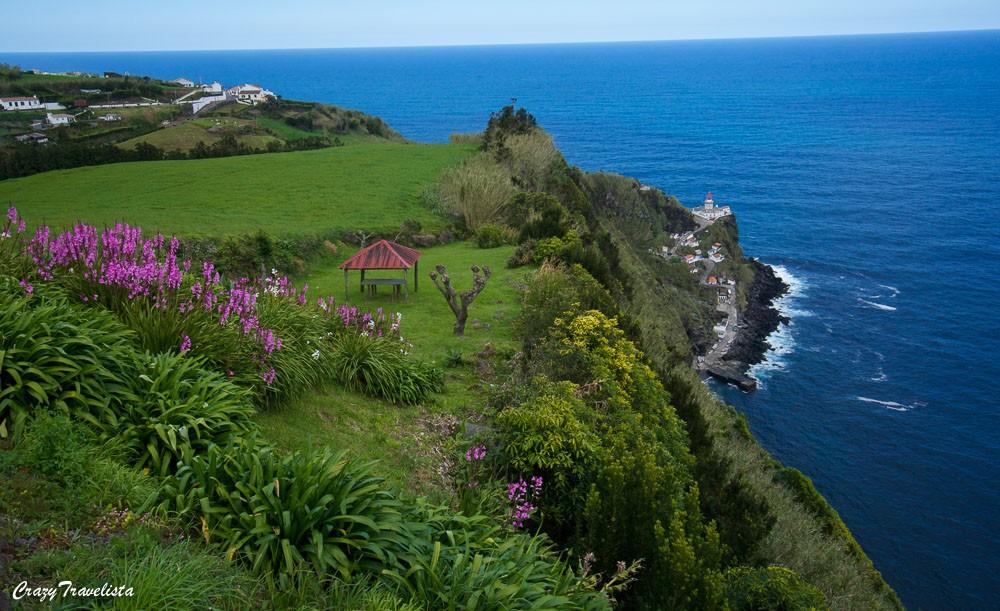 Farol do Arnel Sao Miguel, Azores
