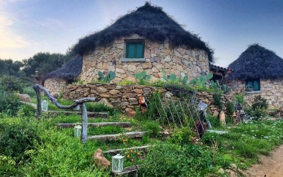 Ecofriendly Luxury Huts at L'essenza, Sardinia