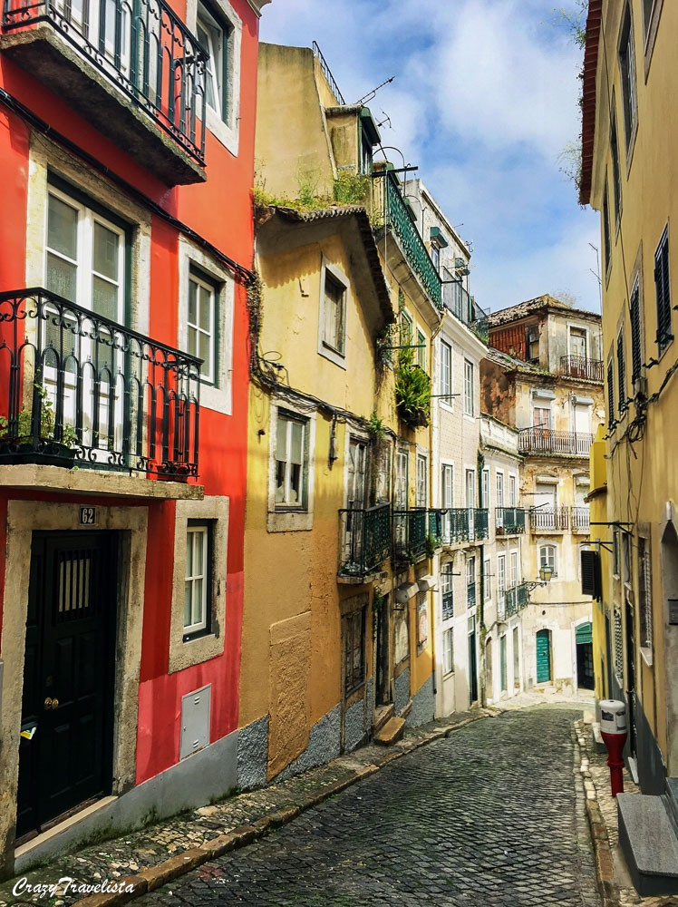 Colorful Bairo Alto Lisbon