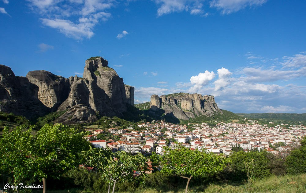 the unique landscape of Meteora