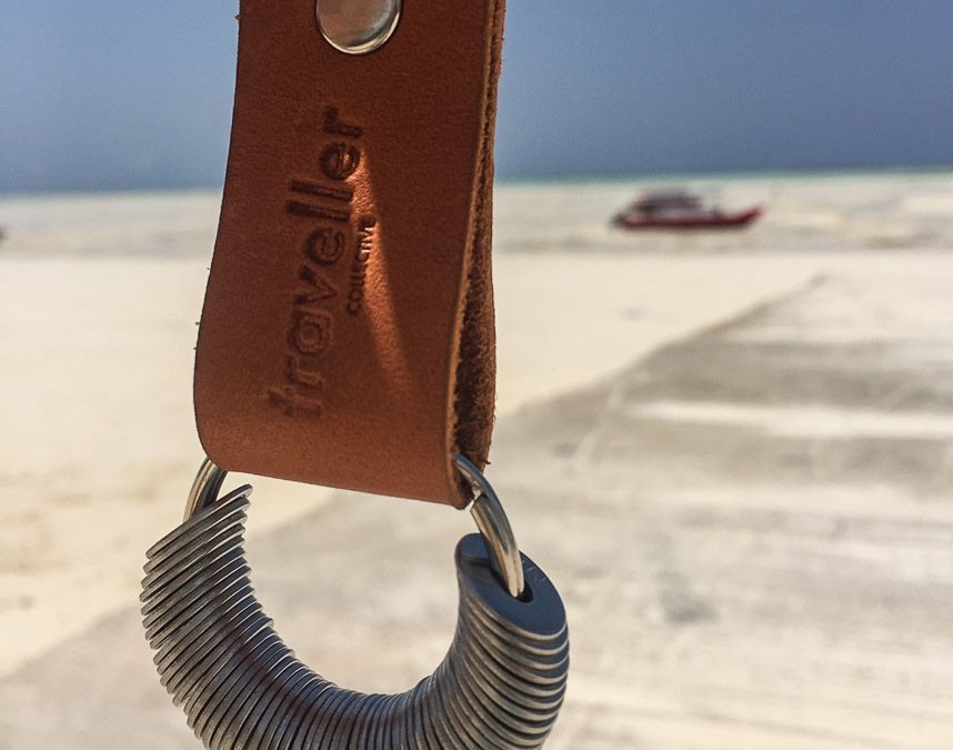 Personalized Traveller Collective Keychain: The Souvenir You'll Take Everywhere!