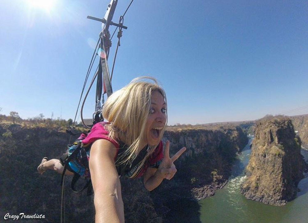 Victoria Falls Activities: Flying fox