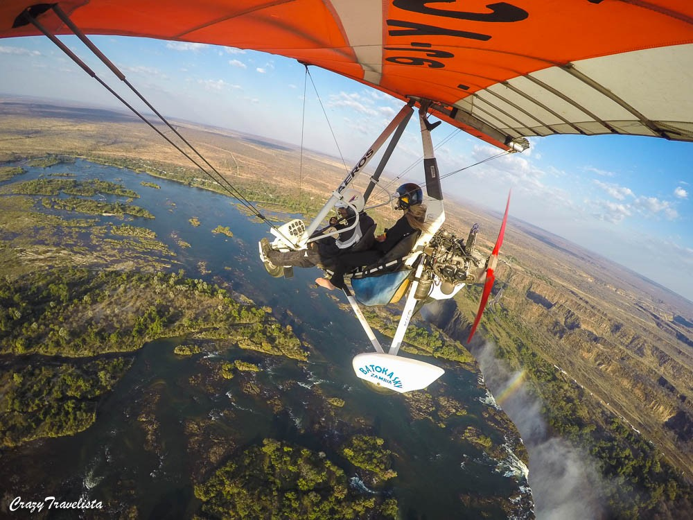 Adventure Activities in Victoria Falls: Microlight Flight
