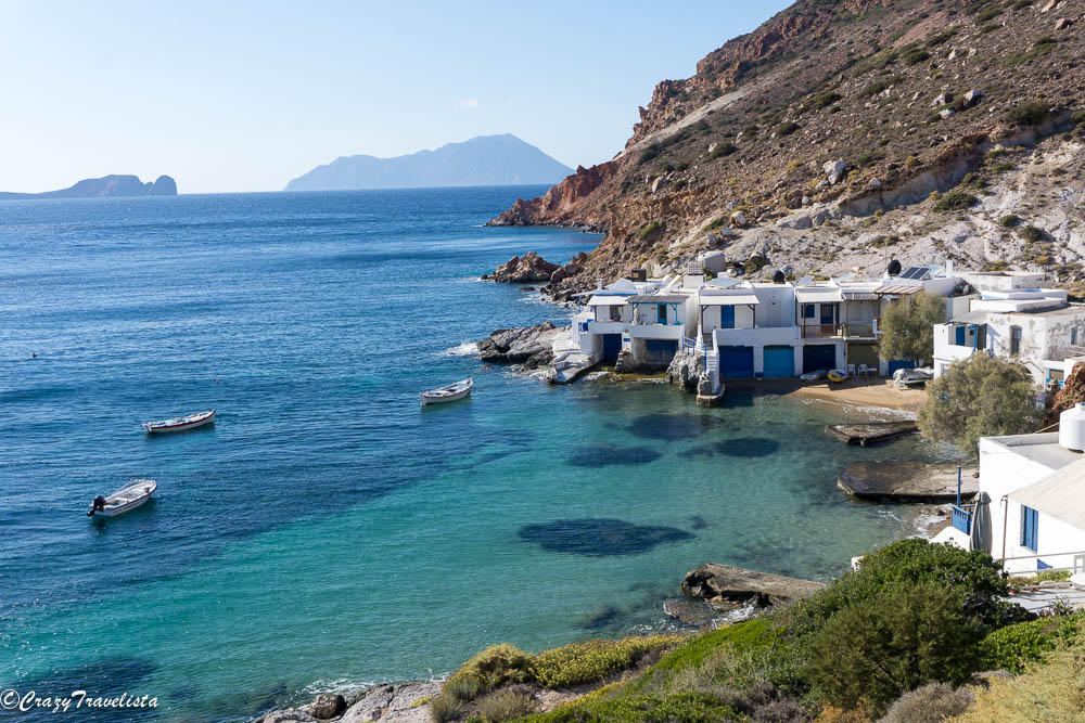4 Day Milos Itinerary