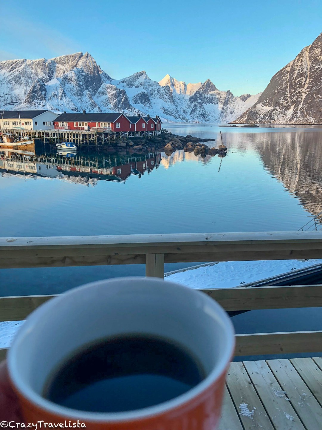 Morning coffee with a view