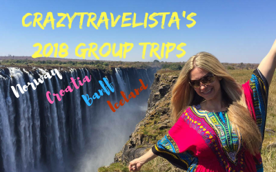 Crazy Travelista's 2018 Mini Solo Group Trips (Norway, Croatia, Banff, & Iceland)