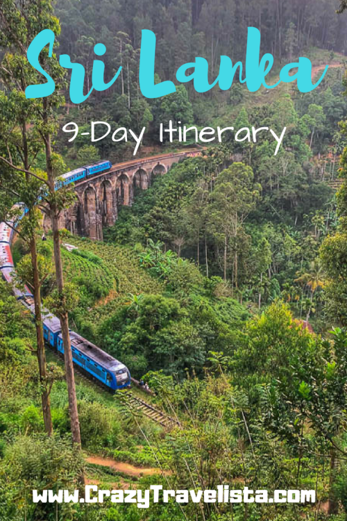 Sri Lanka 9-Day Itinerary