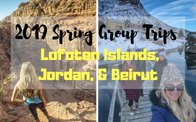 aed350acaaf7 2019 Crazy Travelista Spring Group Trips  Lofoten Islands   Jordan (+  possible Beirut add