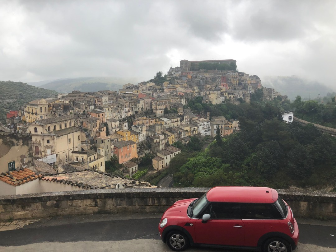 renting a car in Sicily