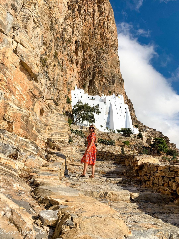 Monasteryof Panagia Hozoviotissa, Amorgos