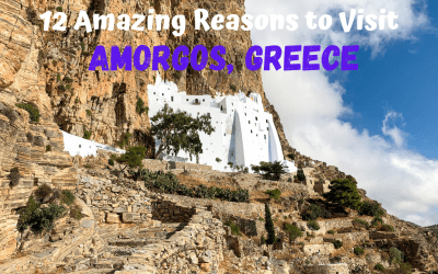 12 Amazing Reasons to Visit Amorgos, Greece: the Tiny Greek Island You've Probably Never Heard Of