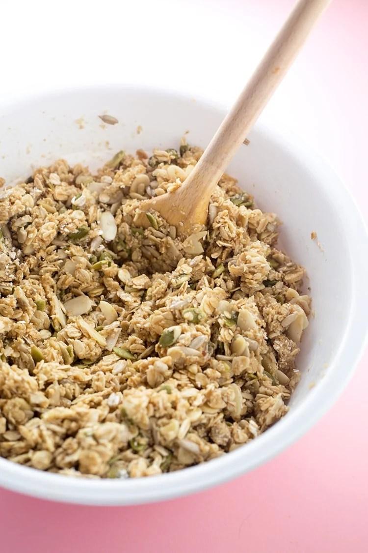 Vanilla Almond Vegan Granola Crazy Vegan Kitchen
