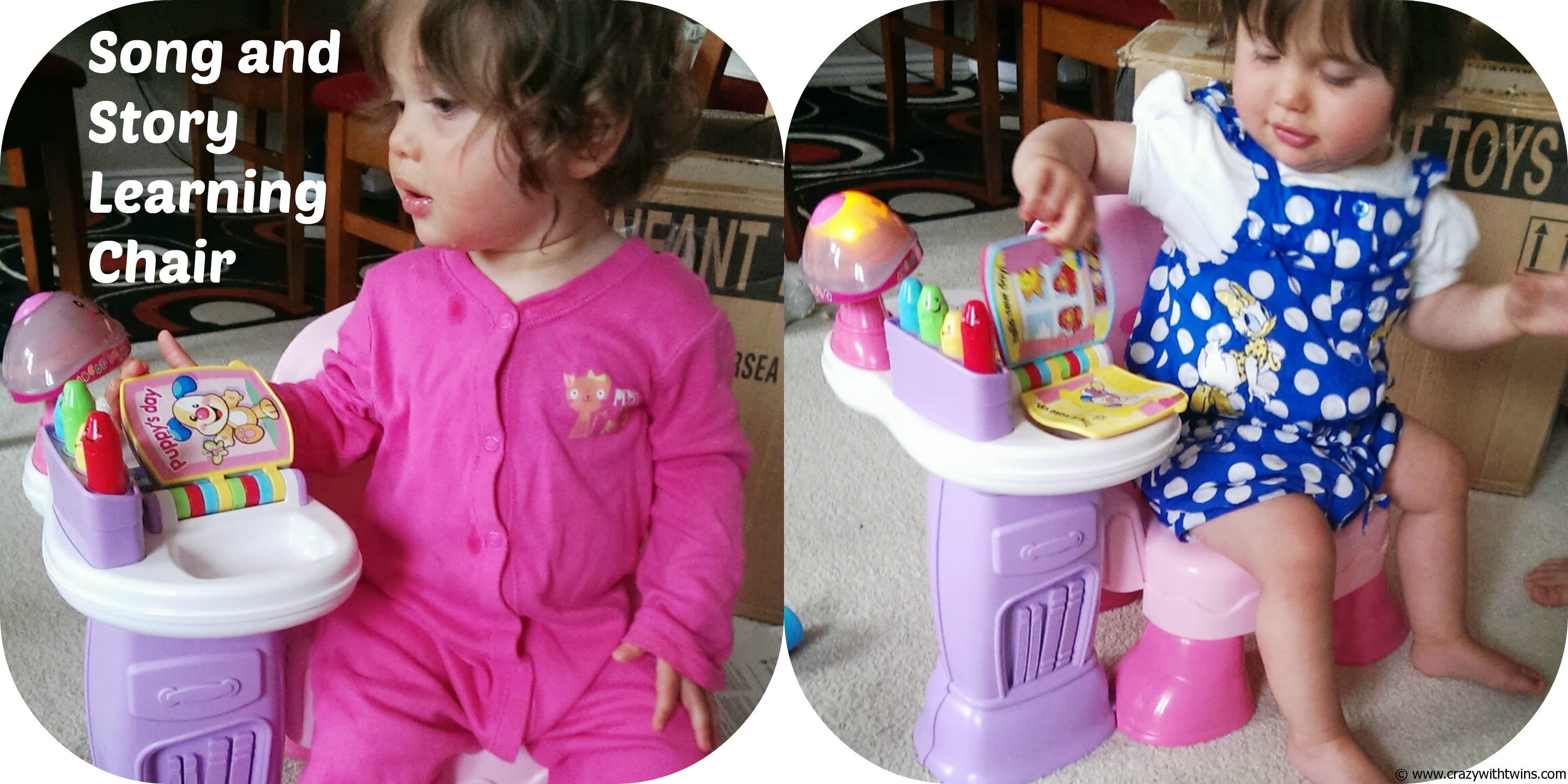 fisher price laugh and learn chair pink gaiam classic balance ball toy reviews