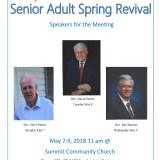 Senior Adult Spring Revival