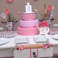 Ideas de decoración  para té de cocina o Bridal Shower